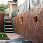 dan mueller mosaic terracotta walls austin
