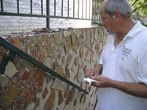 austin mosaic art-dan mueller
